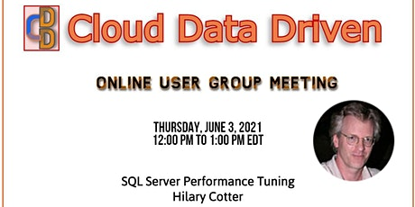 SQL Server Performance Tuning ~ Hilary Cotter tickets