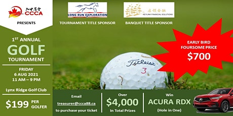 CCCA First Annual Golf Tournament tickets