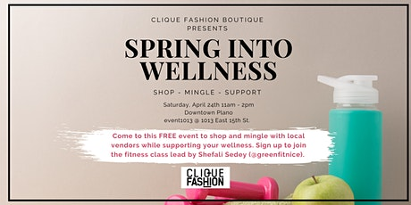 Spring into Wellness Pop-Up tickets
