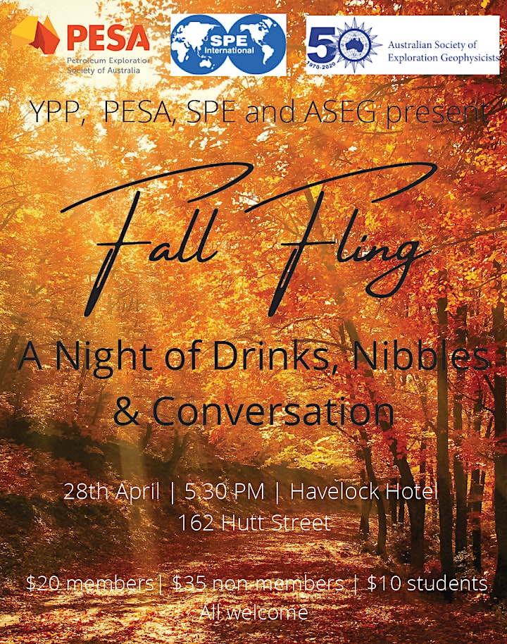 Fall Fling by SPE, ASEG, YPP & PESA image
