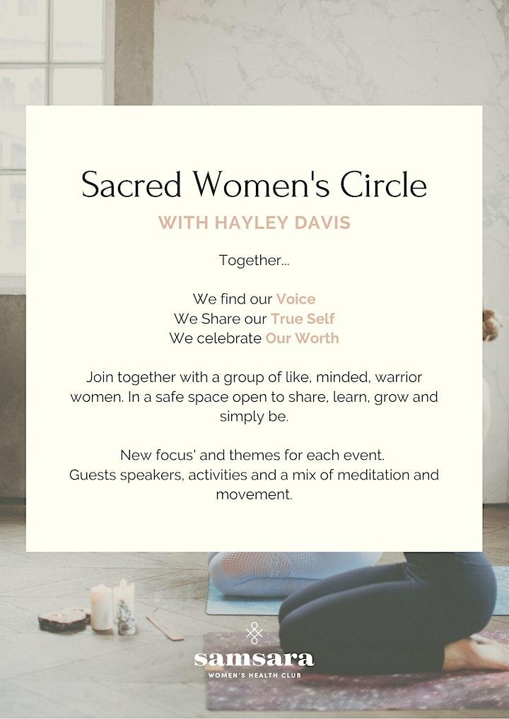 Sacred Women's Circle image