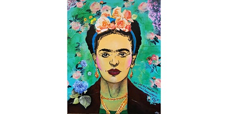 Pop Art Stencil Portraits -  Frida Kahlo tickets