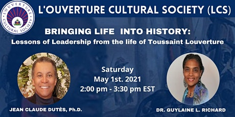 Lessons of Leadership from the life of Toussaint Louverture tickets