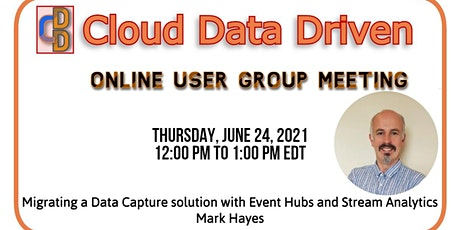 Migrating a Data Capture solution with Event Hubs and Stream Analytics tickets