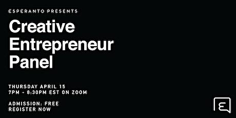 The Creative Entrepreneur tickets
