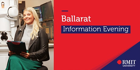 RMIT University Information Evening - Ballarat tickets
