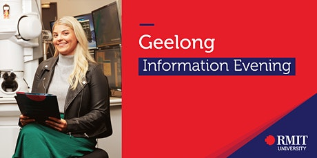 RMIT University Information Evening - Geelong tickets
