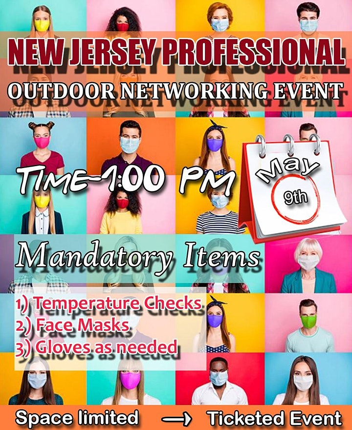 NJ PROFESSIONAL OUTDOOR NETWORKING EVENT. image