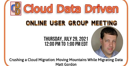 Crushing a Cloud Migration: Moving Mountains While Migrating Data tickets