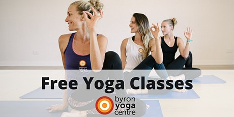 Byron Yoga Centre in Melbourne - Free Yoga classes by teacher trainees tickets