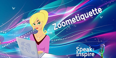 Zoometiquette - Success in an online world tickets