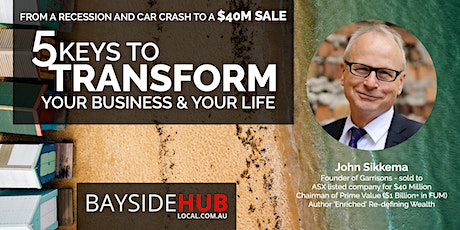 MAY 15 BREAKFAST EVENT - 5 Keys to Transform Your Business & Your Life tickets