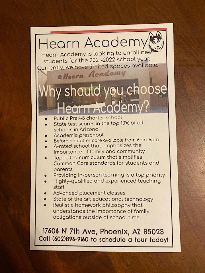 Hearn Academy's PreK-1st Grade Roundup image