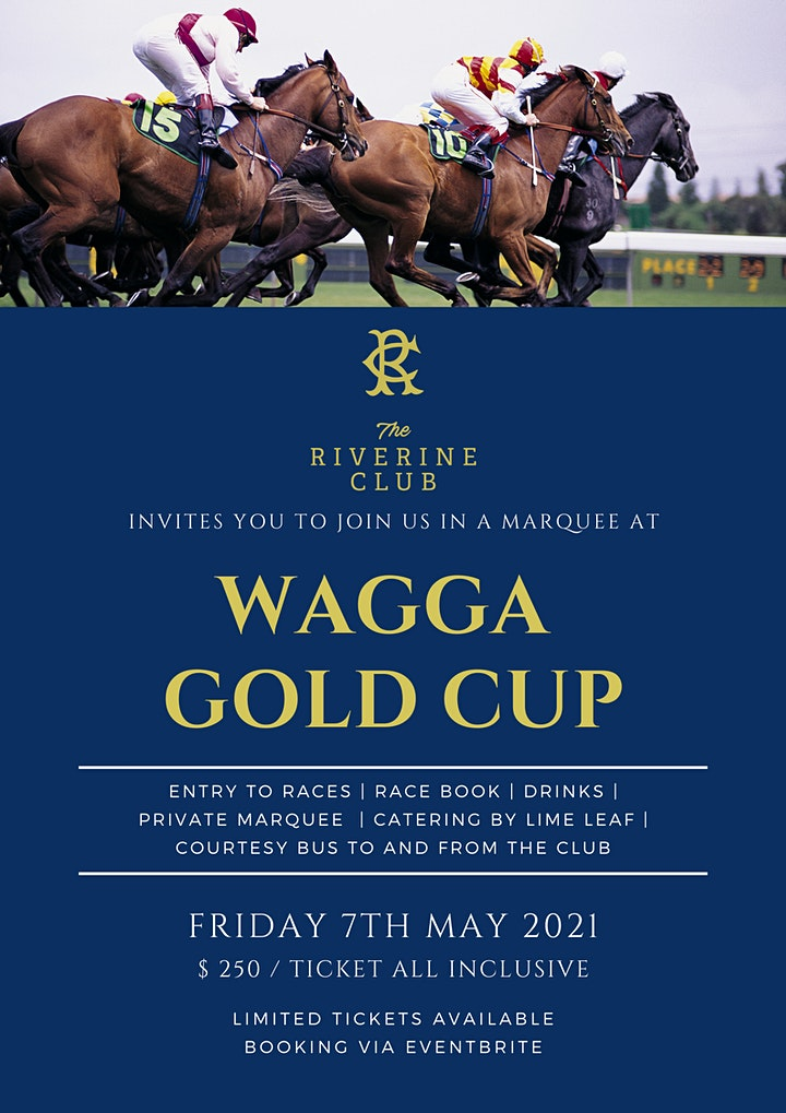 WAGGA GOLD CUP - MARQUEE image