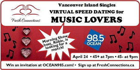 Virtual Speed Dating for Music Lovers tickets