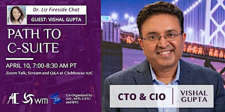 Fireside Chat with Vishal Gupta: Path to C-Suite tickets