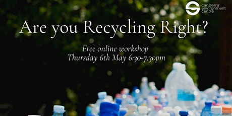 Are You Recycling Right? tickets