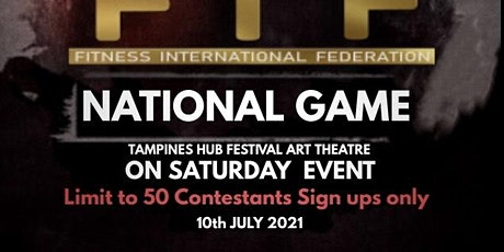 FIF SINGAPORE NATIONAL  2021 tickets