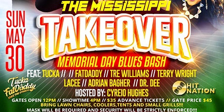 THE MISSISSIPPI TAKEOVER tickets