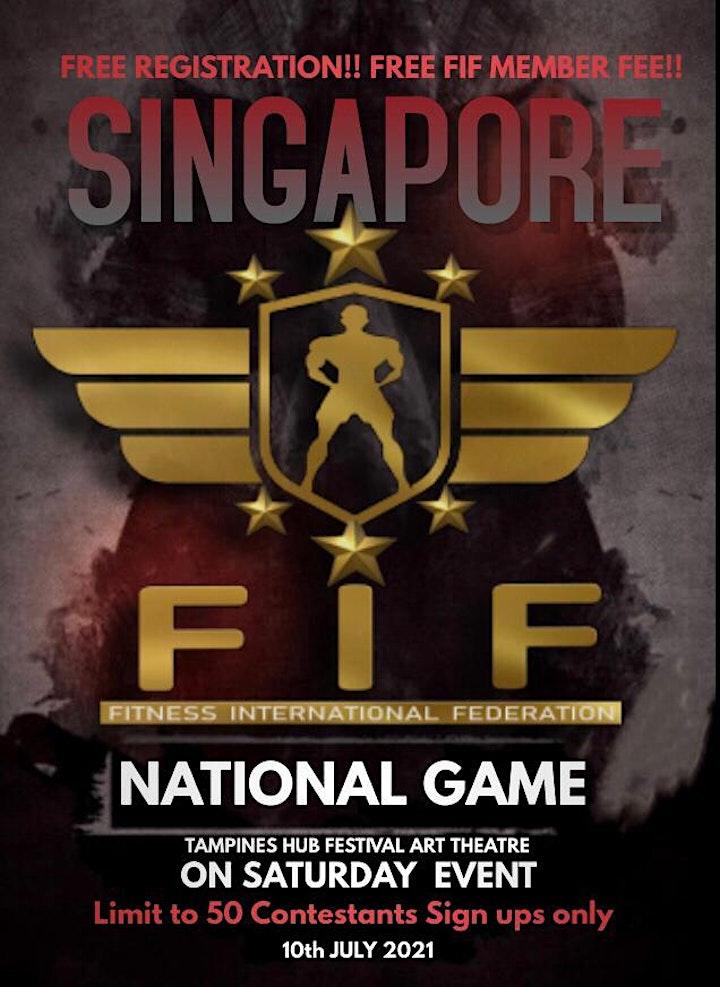 FIF SINGAPORE NATIONAL  2021 image