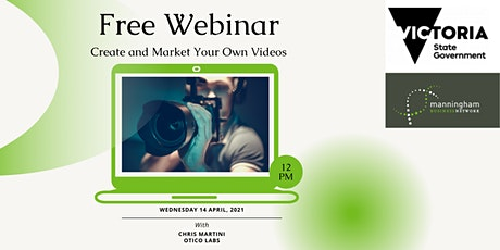 Free: Create And Market Your Own Videos To Market Your Business For Success tickets