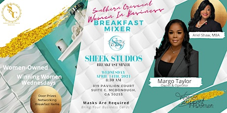 Womens Breakfast Mixer:Network Safely with Margo Taylor of Sheek Studios tickets