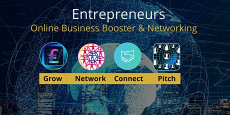 Entrepreneurs Business Networking Event (ONLINE) tickets