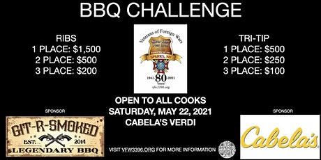 1st Annual VFW 3396 BBQ Challenge - Open to all cooks tickets