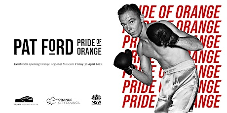 Exhibition Opening: 'Pat Ford - Pride of Orange' tickets