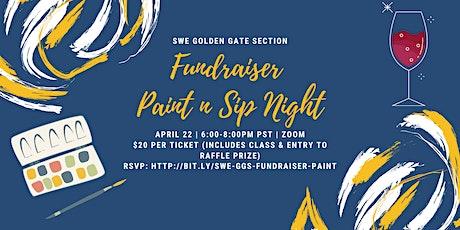 SWE GGS Fundraiser Paint n Sip Night tickets