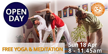 OPEN DAY - Free Yoga & Meditation Classes tickets