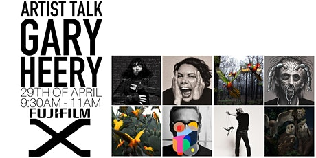 Artist Talk with Fujifilm X-photographer Gary Heery tickets