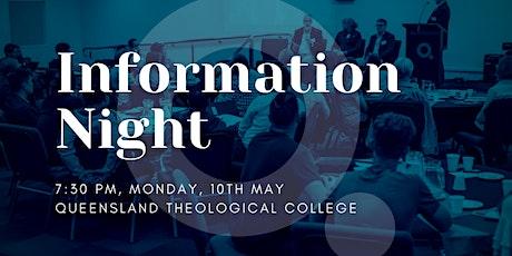 QTC Information Night - May tickets