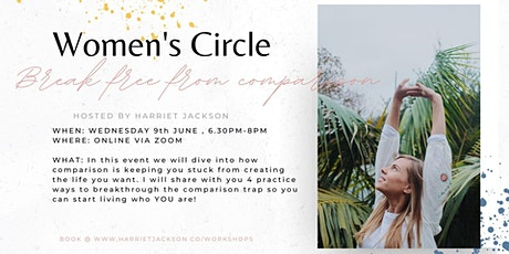 Online Women's Circle ~ Break free from comparison tickets