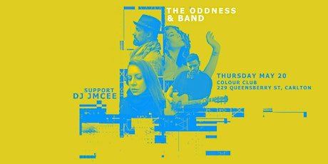 The Oddness & Band - live at Colour tickets