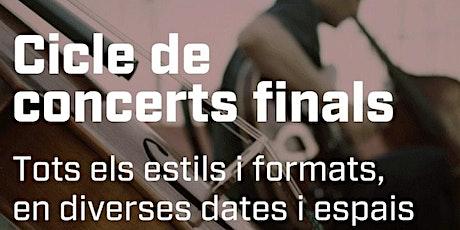 Concert final de Màster. Julian Abad. Jazz i Música Moderna tickets
