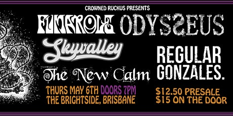 QLD TOUR 2021 w/Fumarole, Odysseus, Sky Valley, & more tickets