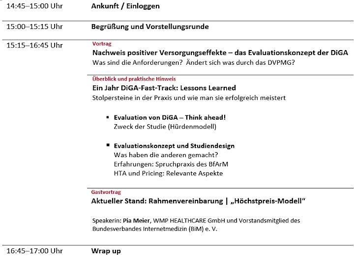 Evaluationskonzept reloaded: Think ahead!: Bild