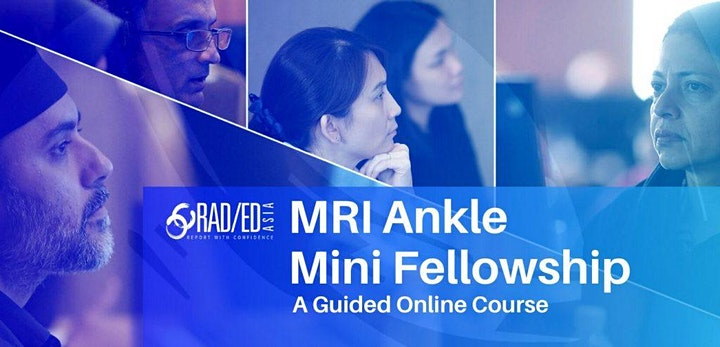 ANKLE MRI ONLINE  GUIDED MINI FELLOWSHIP 5th JUNE image
