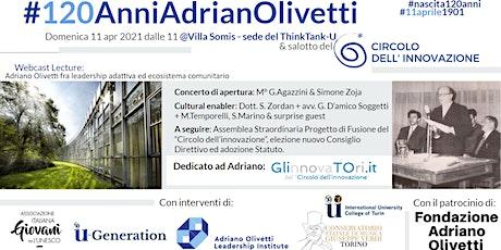 #120AnniAdrianoOlivetti biglietti