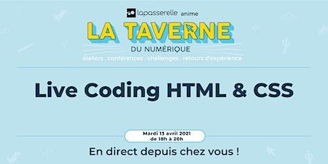 Live Coding HTML & CSS billets
