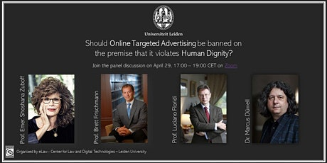 Panel Discussion: Online Targeted Advertising and Human Dignity tickets