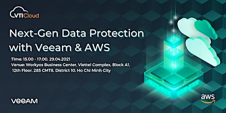Next-Gen Data Protection with AWS & Veeam tickets