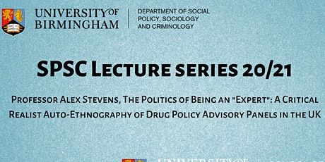 SPSC Lecture: Professor Alex Stevens tickets