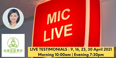 MBI Therapy in English Live Testimonial + 30min Theory tickets