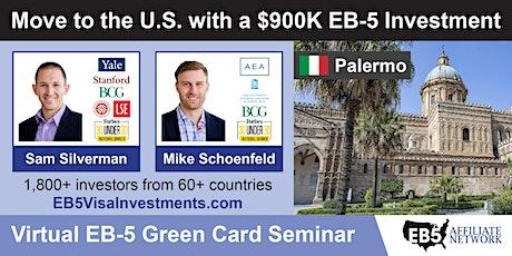 U.S. Green Card Virtual Seminar – Palermo, Italy tickets