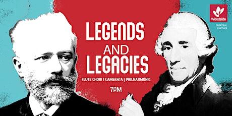 Legends and Legacies - Flute Choir, Camerata & Philharmonic 7:00pm tickets