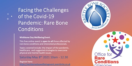 Facing the Challenges of the Covid-19 Pandemic: Rare Bone Conditions bilhetes