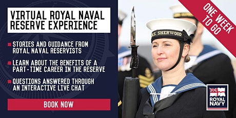 Virtual Royal Naval Reserve Experience - Liverpool and Nottingham Units tickets