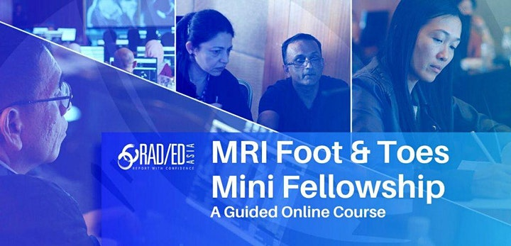 FOOT & TOES MRI ONLINE GUIDED MINI FELLOWSHIP 3rd JULY image